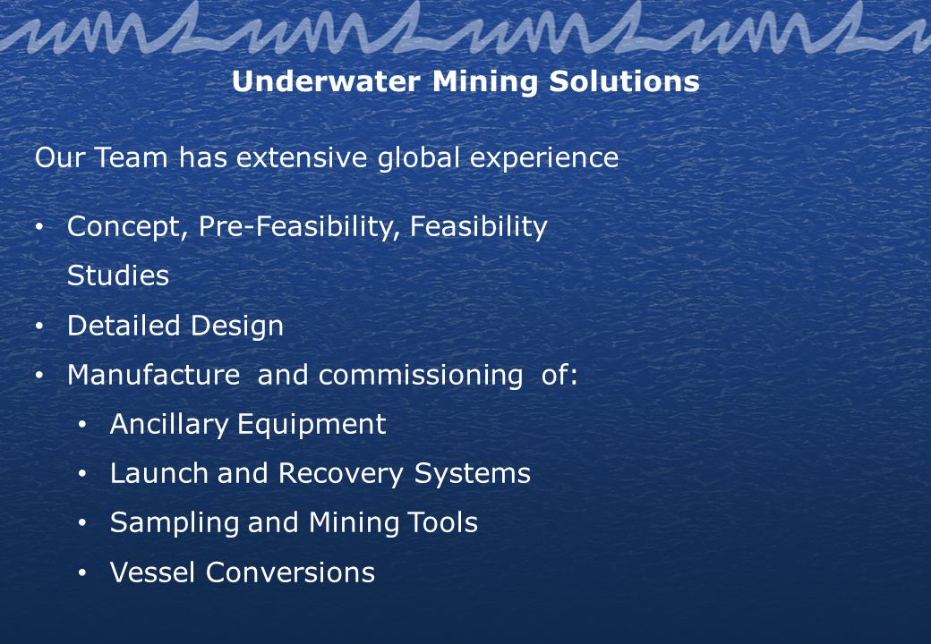Joint Ownership ADP Marine & Modular is a world leader in the development and implementation of customised and innovative solutions for modular mineral processing plants, shallow water mining, walking jack-up platforms and dredging.
