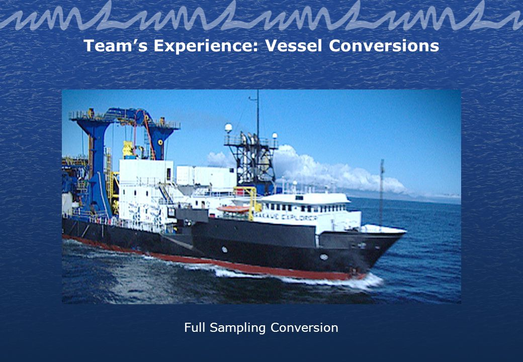 Teams Experience: Vessel Conversions Full Sampling Conversion