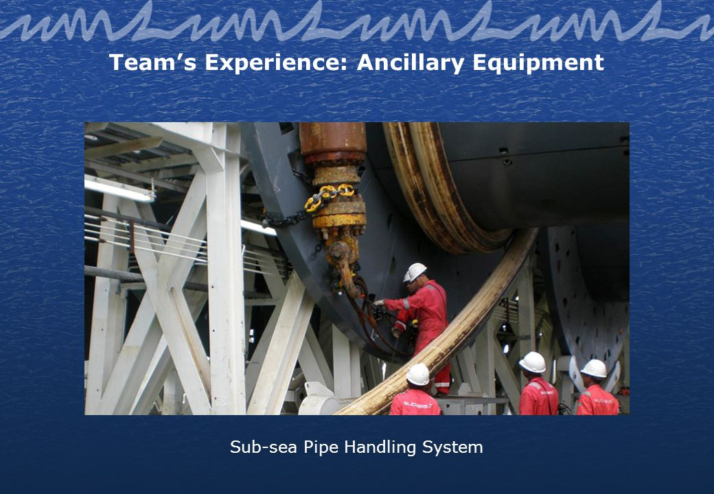Teams Experience: Ancillary Equipment Aerial Ropeway to Walking Jack-up Platform