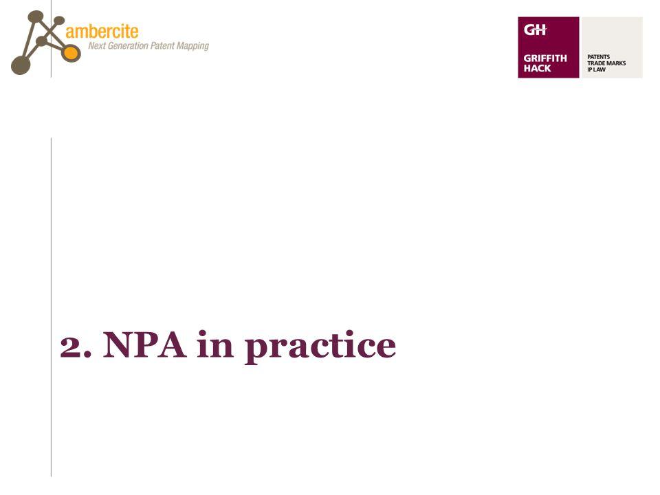 2. NPA in practice