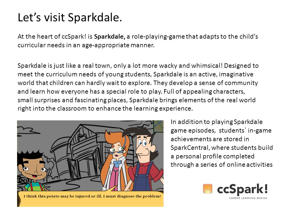 At the heart of ccSpark.