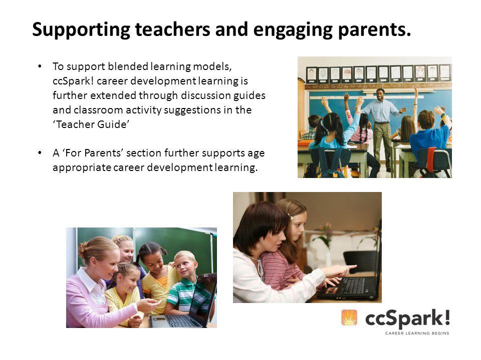 To support blended learning models, ccSpark.
