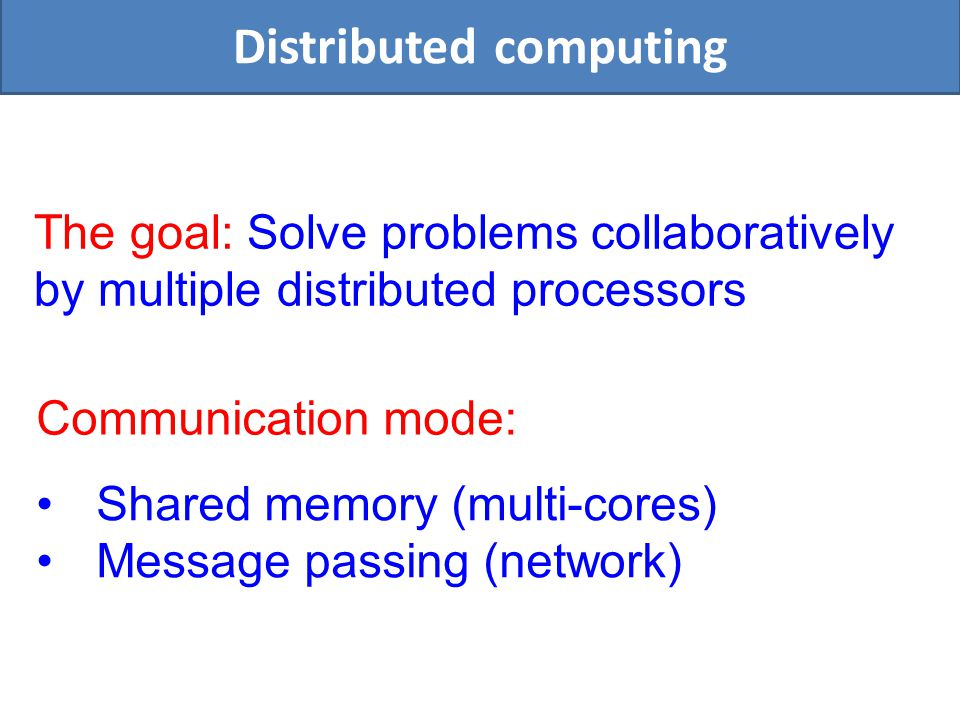 Language: (Decidable) collection of pairs Local distributed computation tasks as languages X 1 =3 v1v1 X 2 =6 v2v2 X 3 =8 v3v3 X 4 =2 v4v4 X 5 =3 v5v5 X 6 =3 v6v6 X 7 =3 v7v7