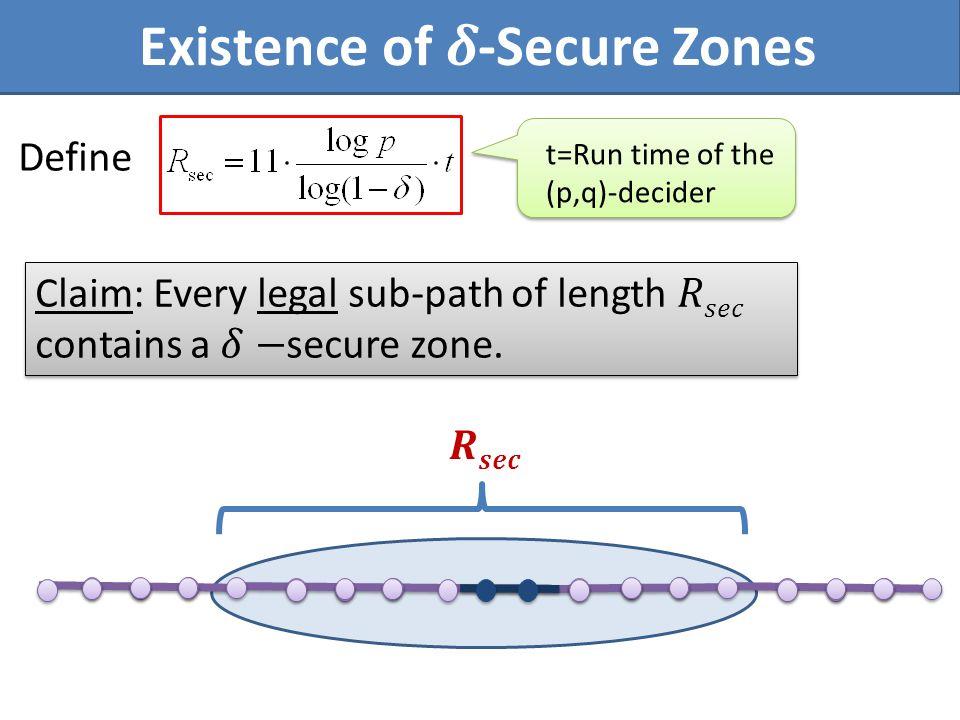 t=Run time of the (p,q)-decider Define
