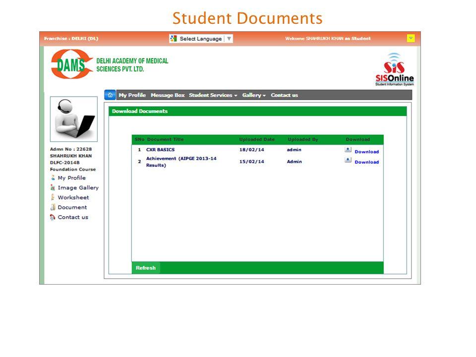 Student Documents