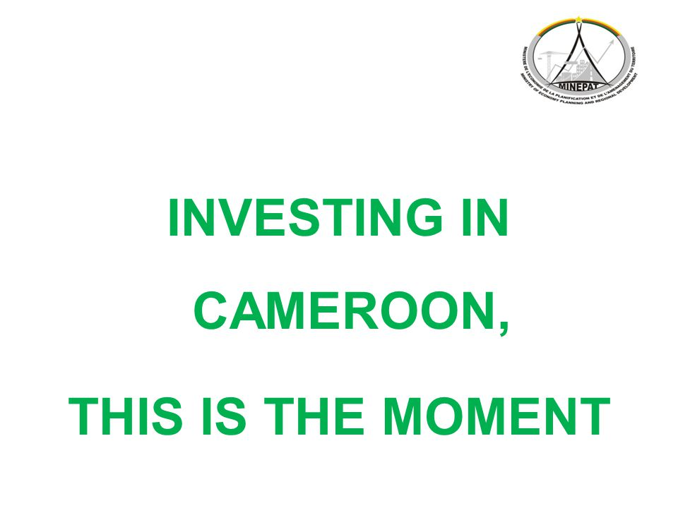 INVESTING IN CAMEROON, THIS IS THE MOMENT