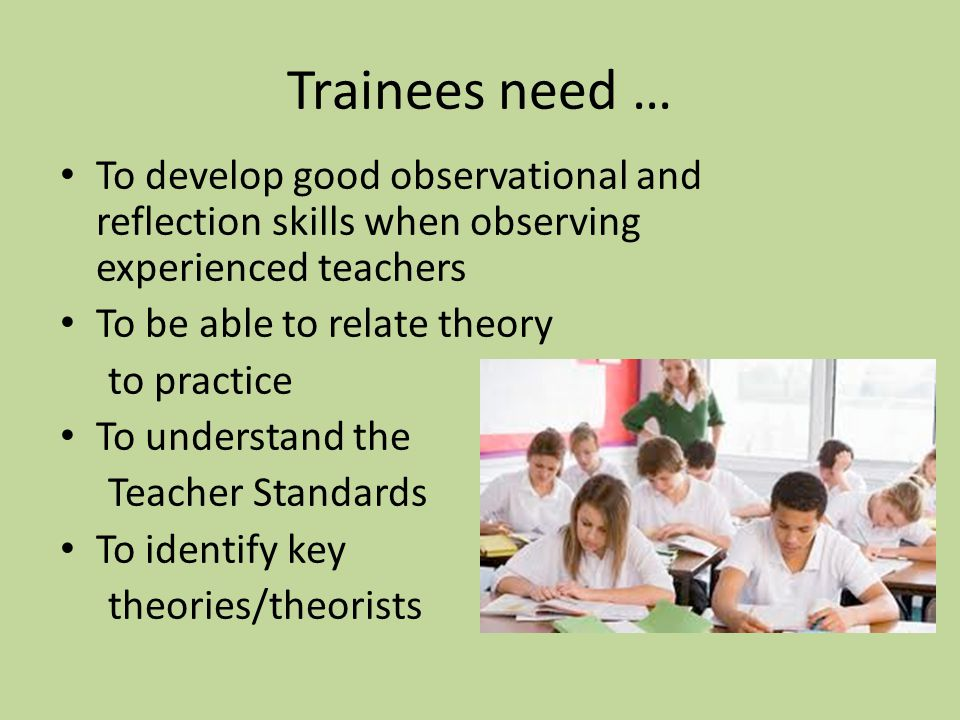Linking Theory to Practice Theories, Themes and Issues – Specific aims of the module (Learning Outcomes) – Link to Teachers Standards: Motivation Progression Subject Knowledge Planning and teaching Responding to learners needs Assessment Managing behaviour Wider professional responsibilities
