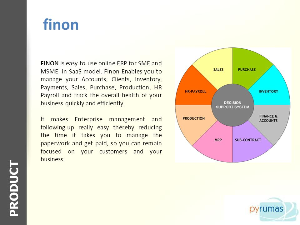 Finon FEATURES Easily create invoices Quickly manage clients Email invoice directly from the application as PDF Manage company expenses Supports multiple tax rates Manage Inventory Manage Purchases Allows multiple users within the organization to access data and create invoices Includes standard reports such as accounting, sales person, unpaid invoices and more Regional format settings include currency symbol, decimal point display and paper size Integrated backup of data Customise the layout of invoices including the logo, invoice title, alignment, font size and payment terms.