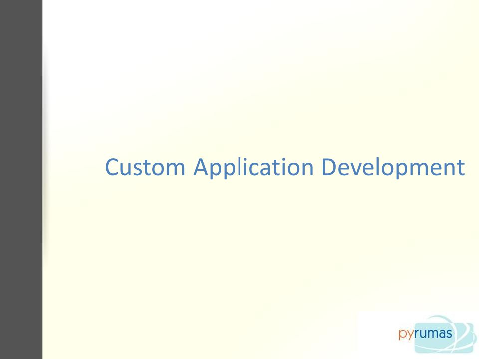 SERVICES Application Development Web Application Development Offshore Project Development Web Enabled Application.Net Application Development E-commerce Application Development Custom Software Development Custom application development : PHP Programming Database development (php/mysql/.net/mssql) Installing, modification, and PHP Script repairs.