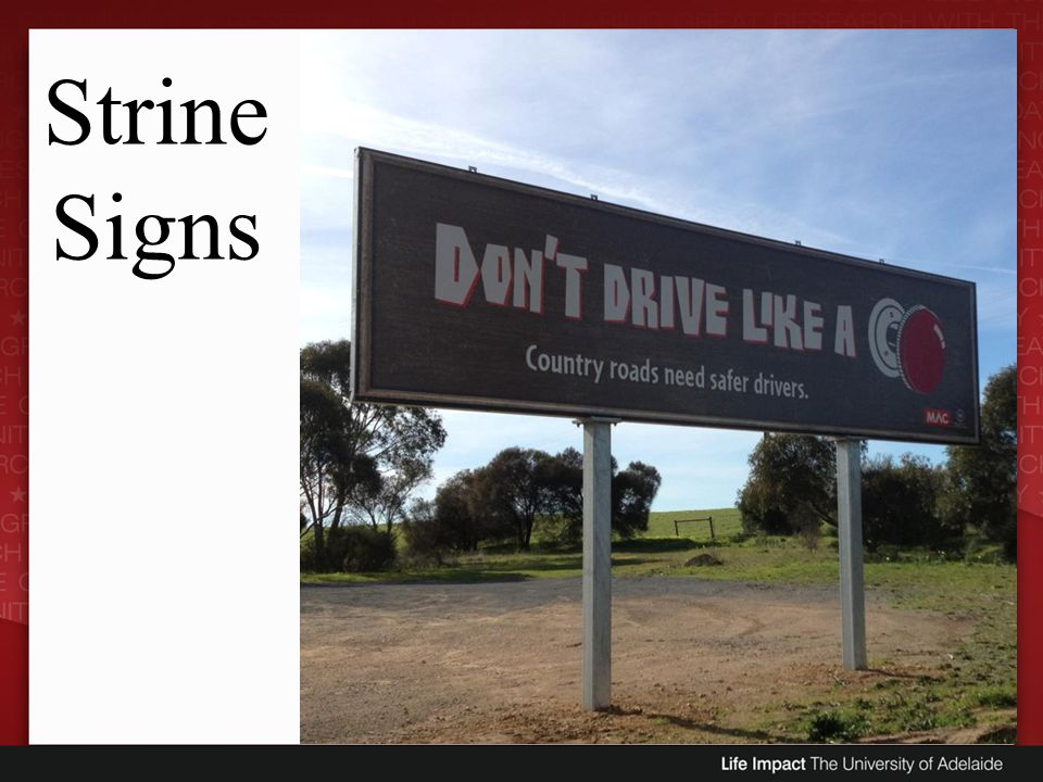 Strine Signs