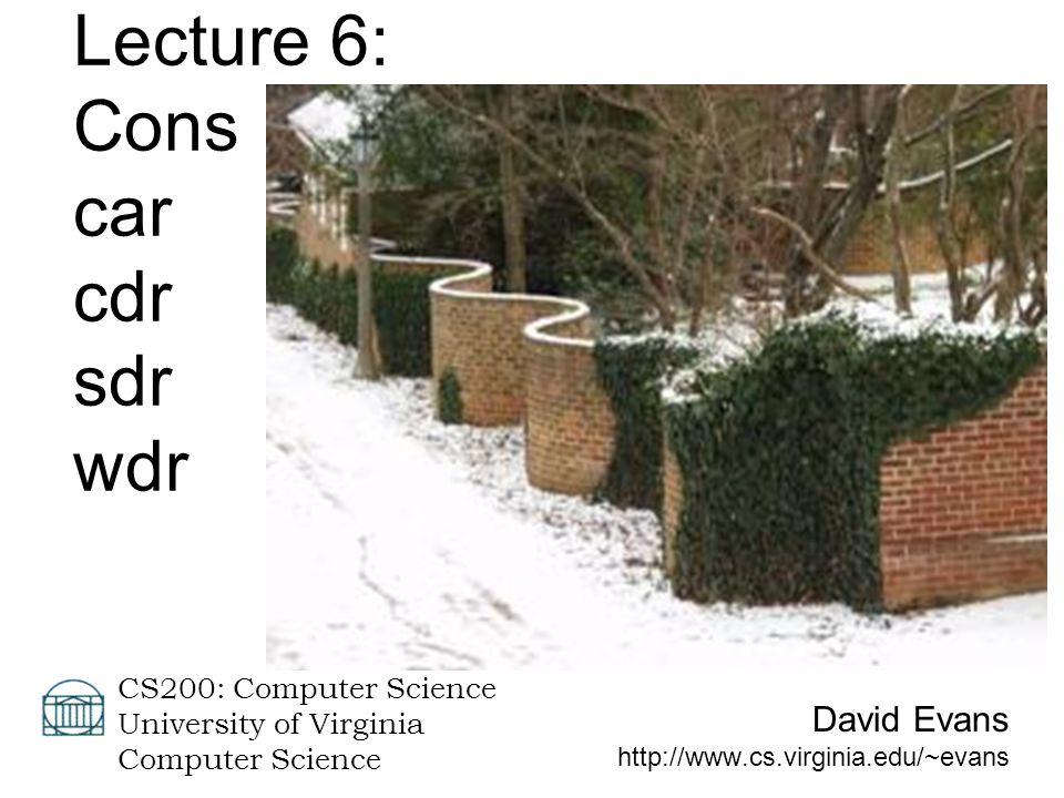 28 January 2004CS 200 Spring 20042 Menu Recursion Practice: fibo History of Scheme: LISP Introducing Lists