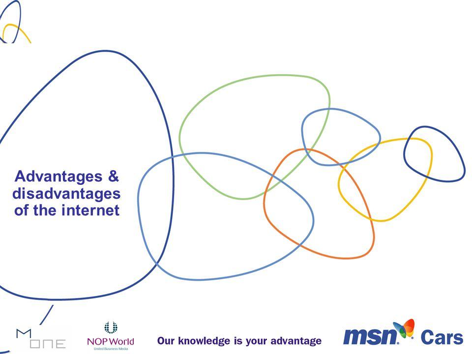 Advantages & disadvantages of the internet