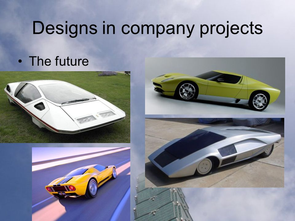 Designs in company projects The future