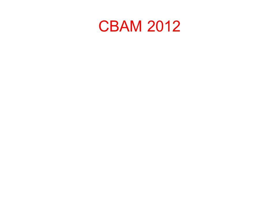 CBAM 2012