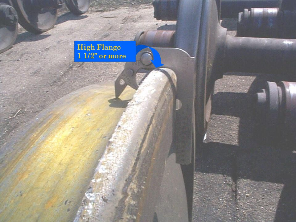 High Flange 1 1/2 or more