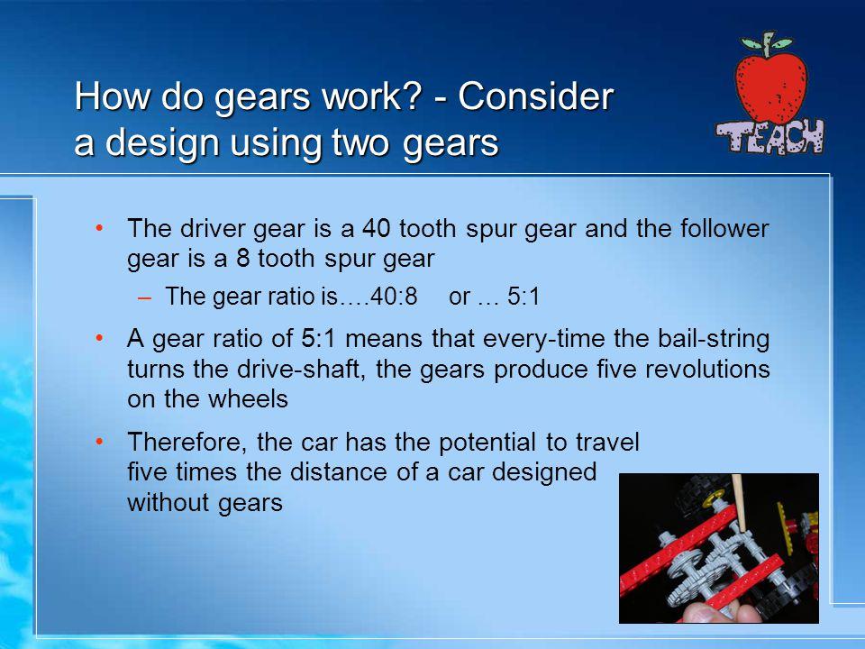 How do gears work.