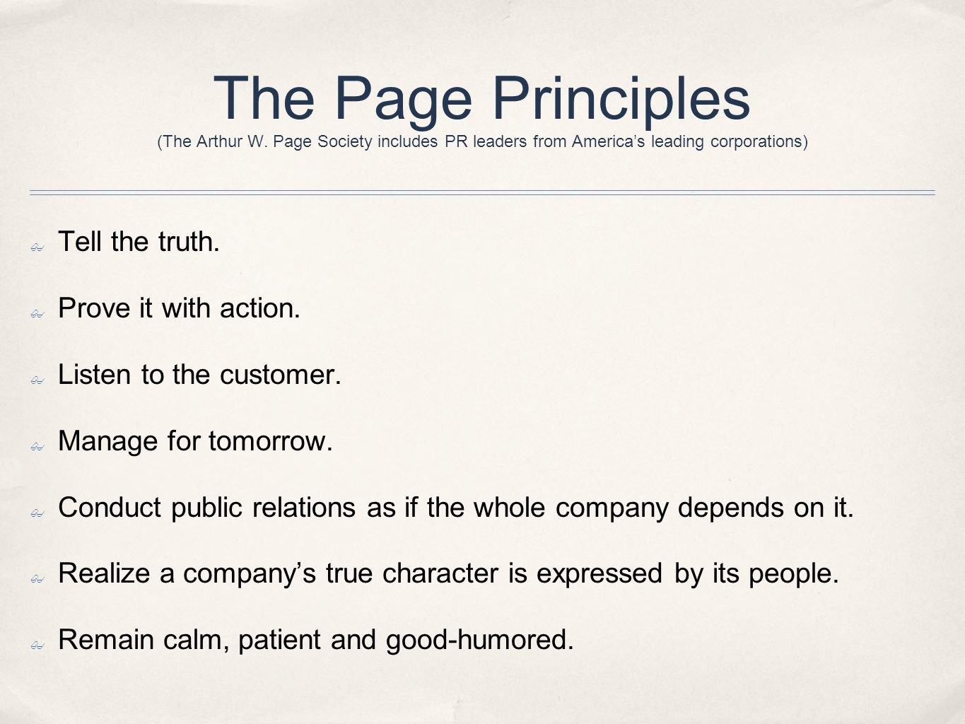 The Page Principles (The Arthur W.