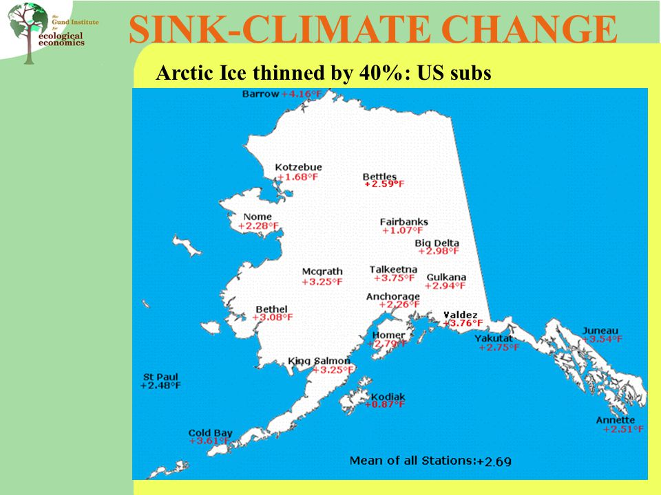 SINK-CLIMATE CHANGE Arctic Ice thinned by 40%: US subs