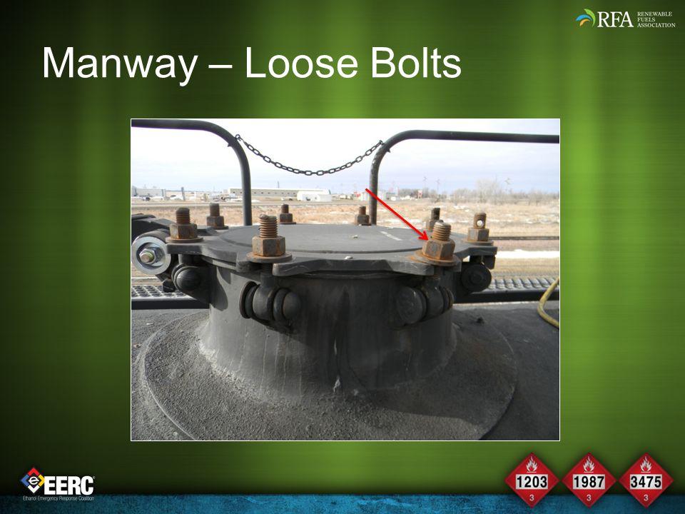 Manway – Loose Bolts
