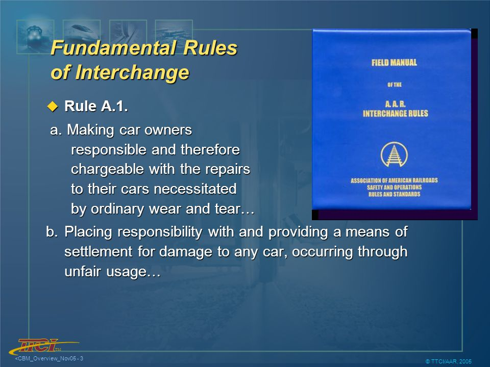 TM <CBM_Overview_Nov05 - 14 © TTCI/AAR, 2005 Trend Analysis for Predictive Maintenance