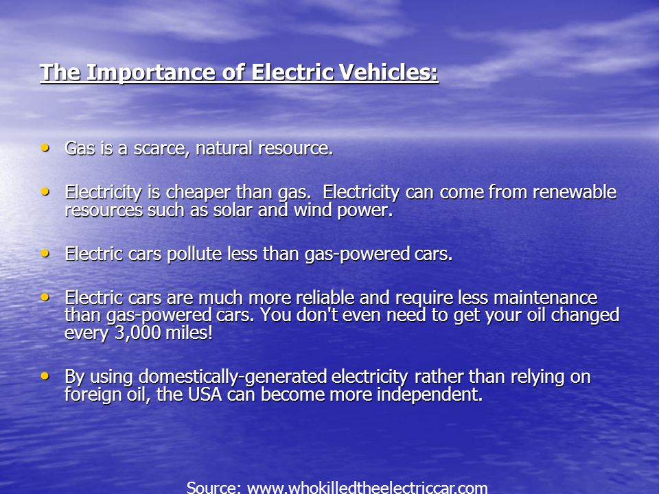 Electric Vehicle- What Did We Learn.We learned to use a step by step process.