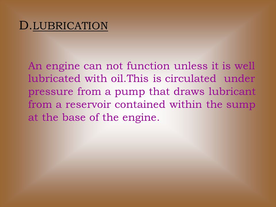 HOW CAR ENGINE WORK A.FOUR STROKE CYCLE The over whelming majority of car engines still employ the four stroke cycle, invented by Nicholas Otto in 1876.