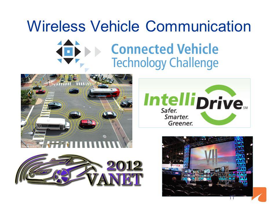 Wireless Vehicle Communication 11