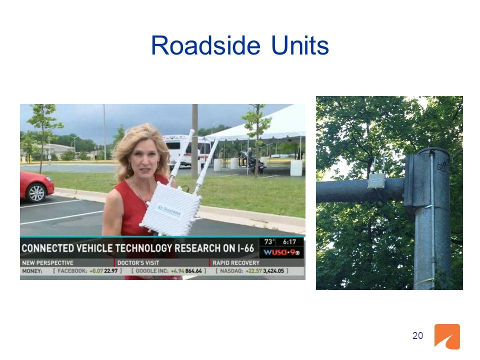 Roadside Units 20