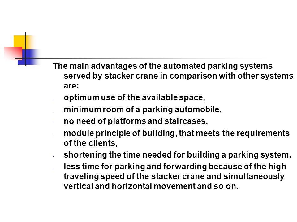 A four column stacker crane for long size materials /cert.