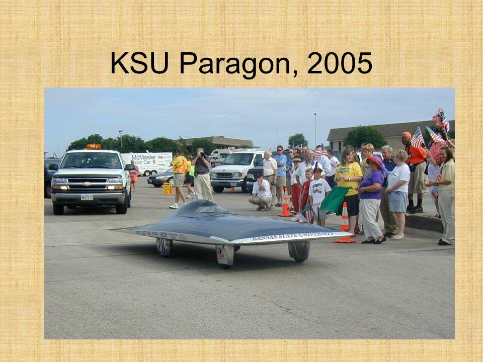 KSU Paragon, 2005
