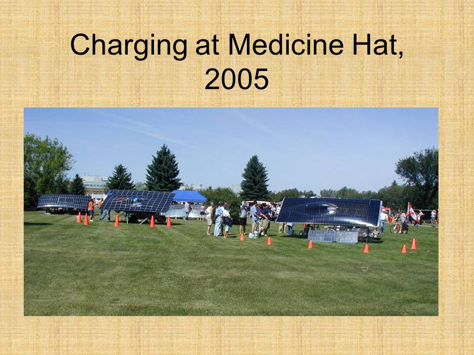 Charging at Medicine Hat, 2005