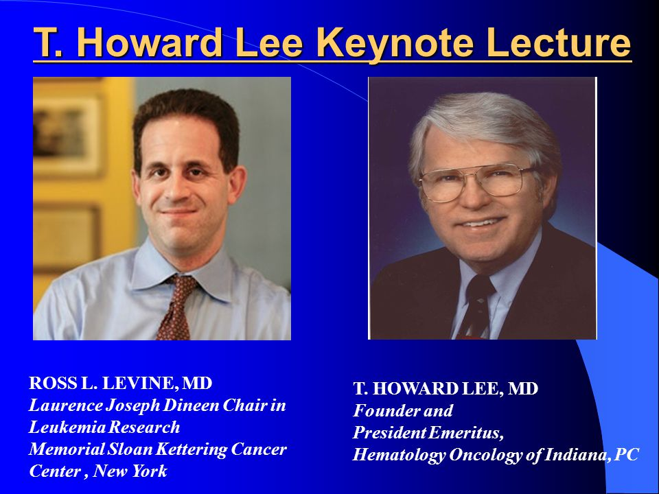 T.Howard Lee Keynote Lecture T.