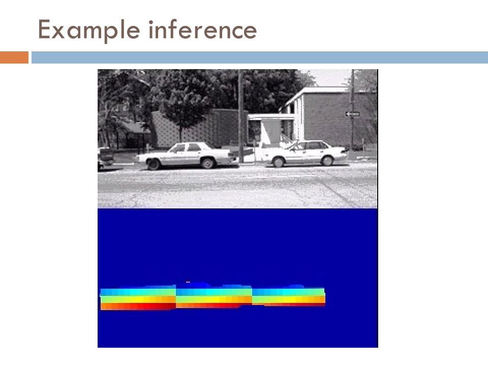 Example inference