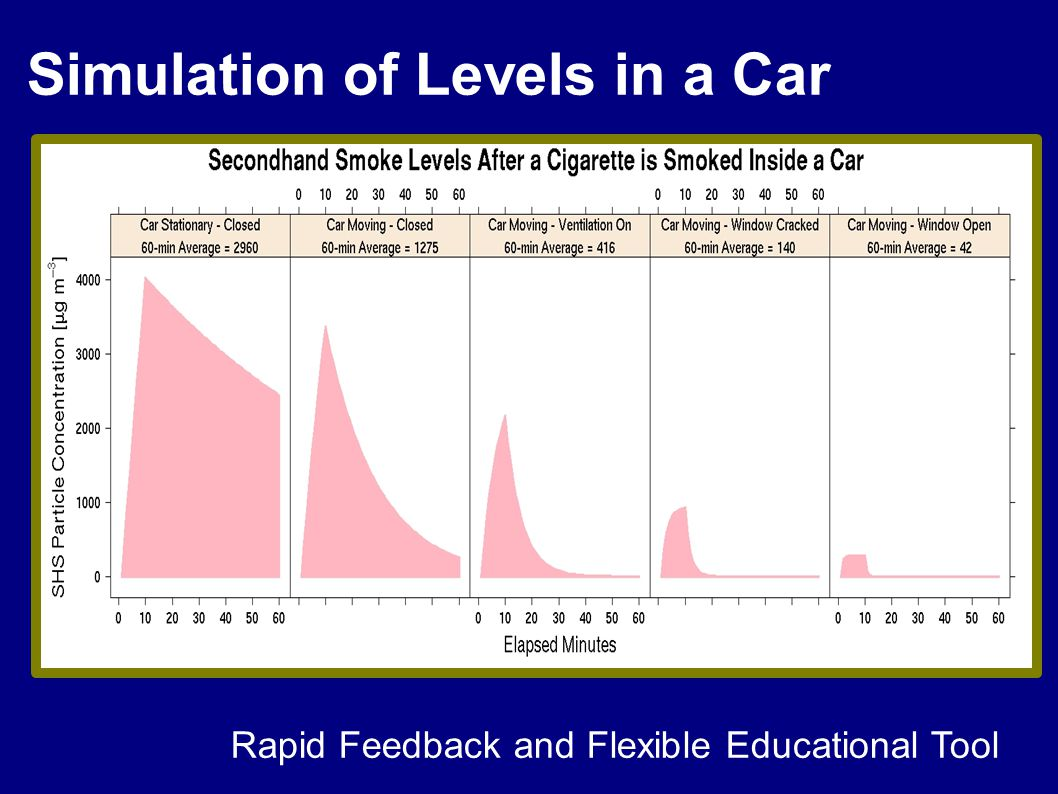 Simulation of Levels in a Car Rapid Feedback and Flexible Educational Tool