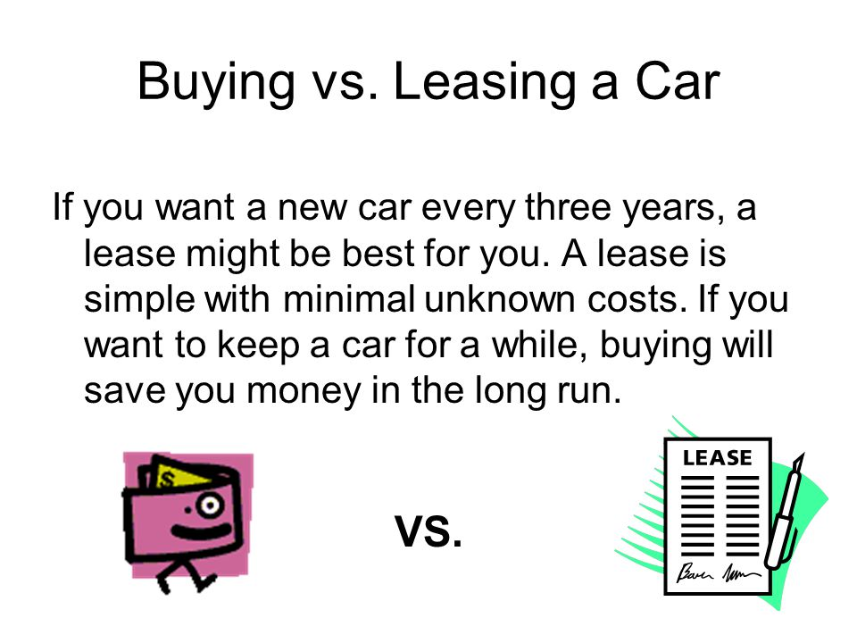 You must master the jargon Residual value: Value of your car at the end of the lease Capitalized cost: Selling price.