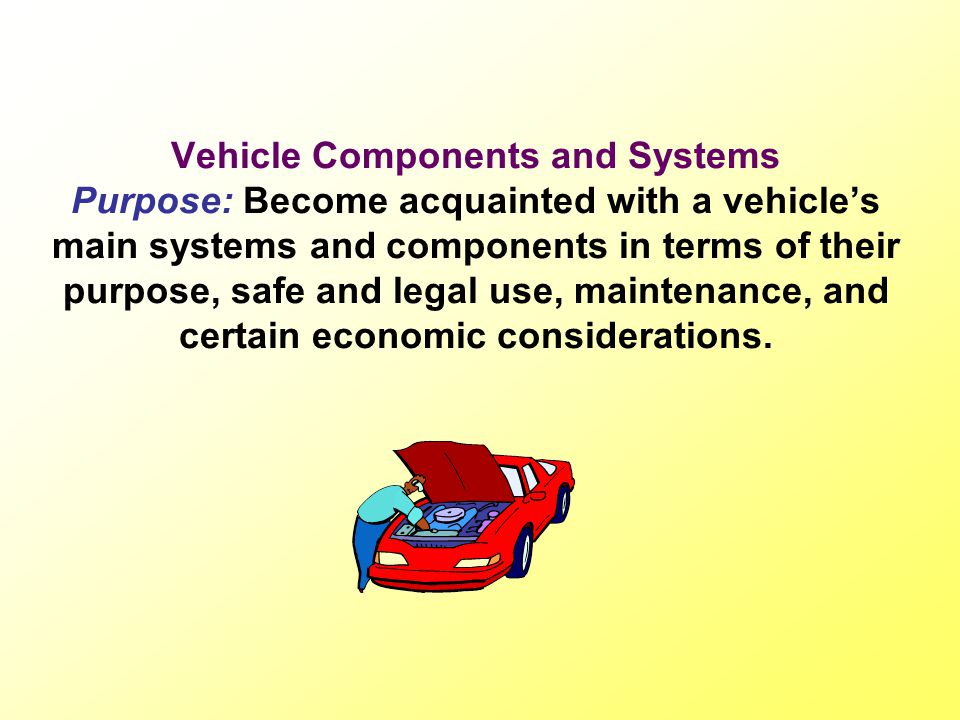 Vehicle Systems and components The steering system: A vehicles steering wheel is attached to a steering column or shaft which terminates in the steering box.