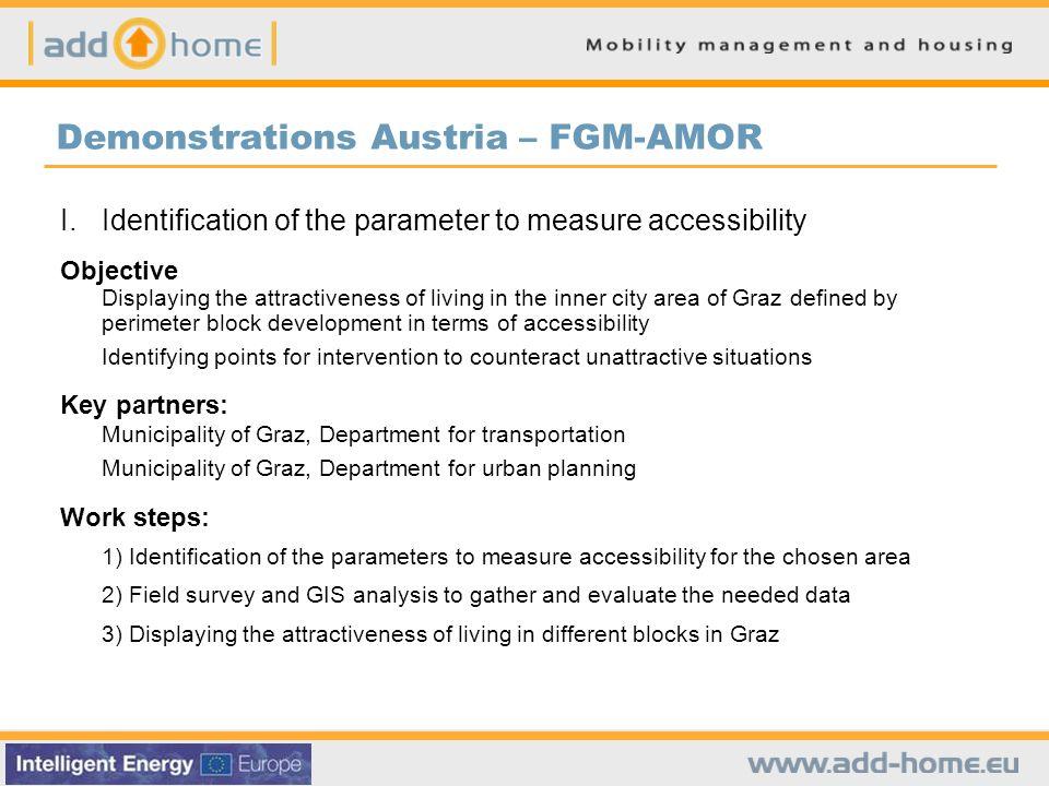 Demonstrations Austria – FGM-AMOR I.