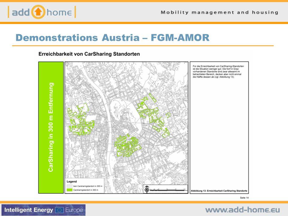 Demonstrations Austria – FGM-AMOR