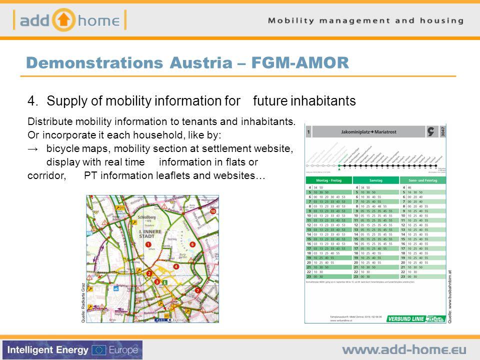 Demonstrations Austria – FGM-AMOR 4.