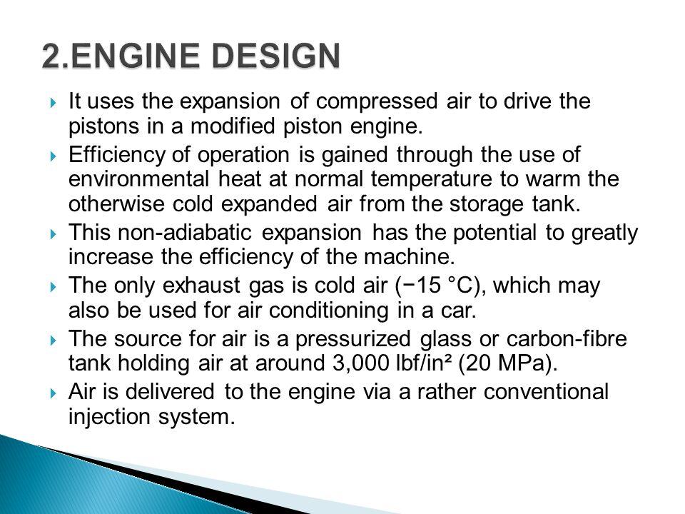 The air car is a clean, easy to drive, high performance car.