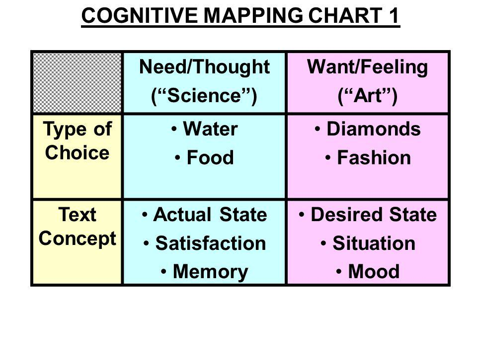 Consumer Decision Process Stages Cognitive Experience Dimensions Need Recognition Information Search Thought (Science) Car Brands Safety Eco-friendly Car Brands Volvo/Land Rover Toyota/Honda Feeling (Art) Car Brands Fun Luxury Car Brands Porsche/Maserati Mercedes/BMW COGNITIVE MAPPING CHART 2
