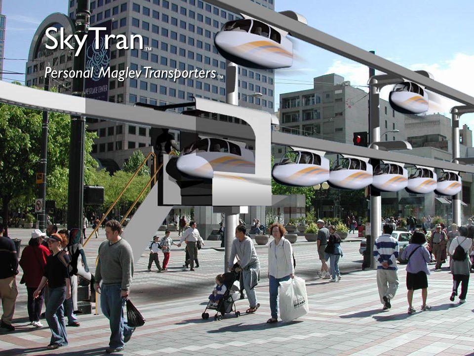 SkyTran Personal Maglev Transporters