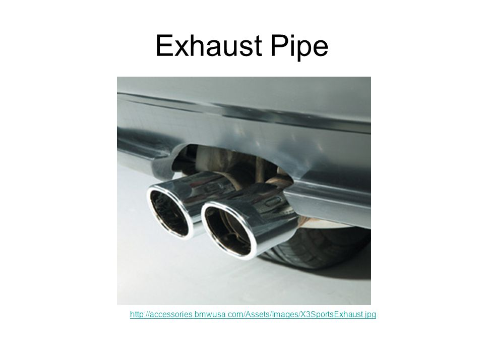 Exhaust Pipe http://accessories.bmwusa.com/Assets/Images/X3SportsExhaust.jpg