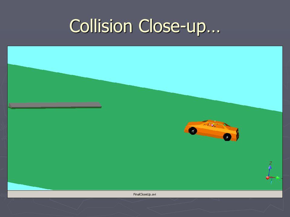Collision Close-up…
