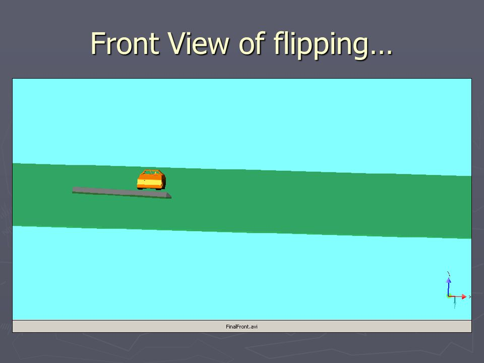 Front View of flipping…