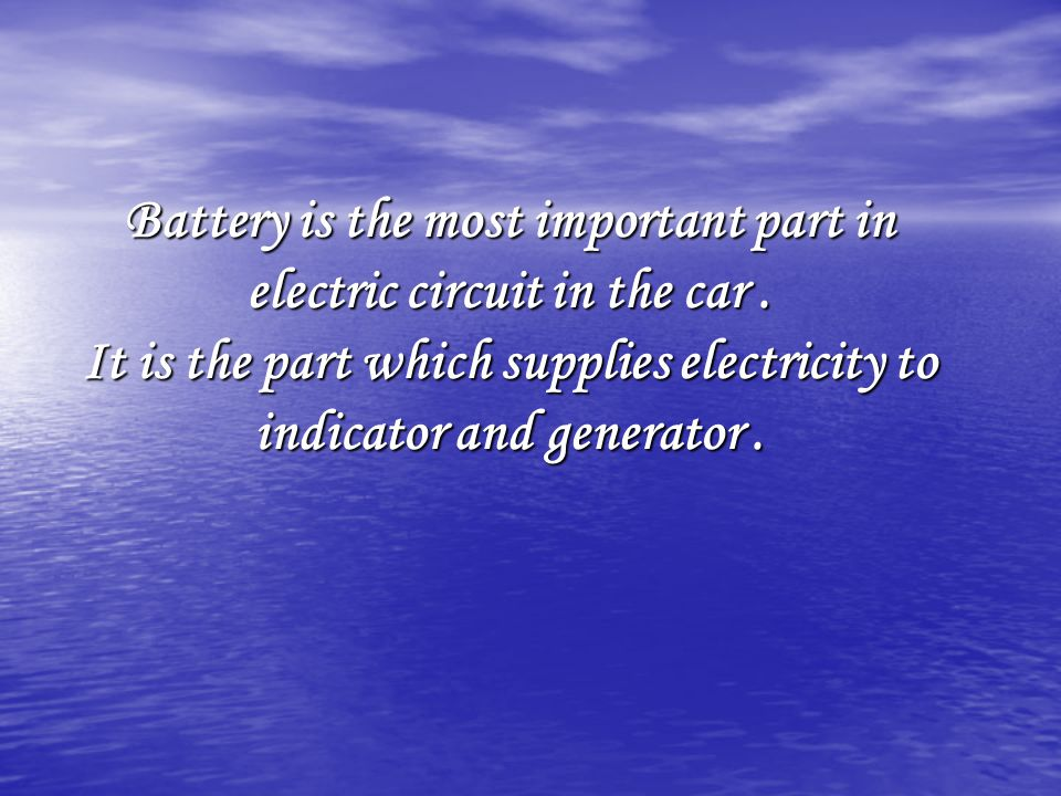 If more ampere-hours are required, two (or more) new and identical 12-volt batteries can be connected in parallel.