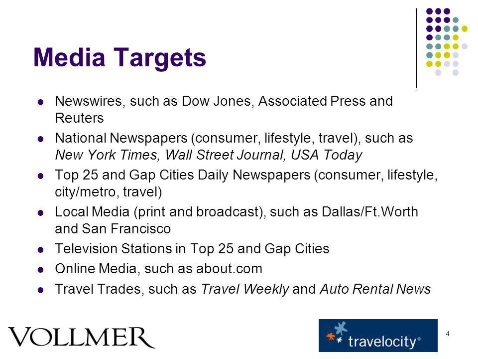 15 Media Materials News Release Distribute June 16 (one week after June 9 soft launch) Distributed broadly to hundreds of national and local media outlets (including broadcast and online media) via Business Wire Sent to targeted media and other industry analysts who have an interest in travel/Travelocity TV News Alert Distribute June 17 (weekend)/June 28 (consumer) The alert will be distributed broadly to hundreds of consumer reporters at affiliates nationwide B-roll Update existing b-roll with new footage of car path