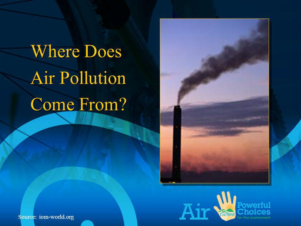 Source: we-energies.com Layers of the Atmosphere Some Gases in Car Exhaust Contribute to Global Warming