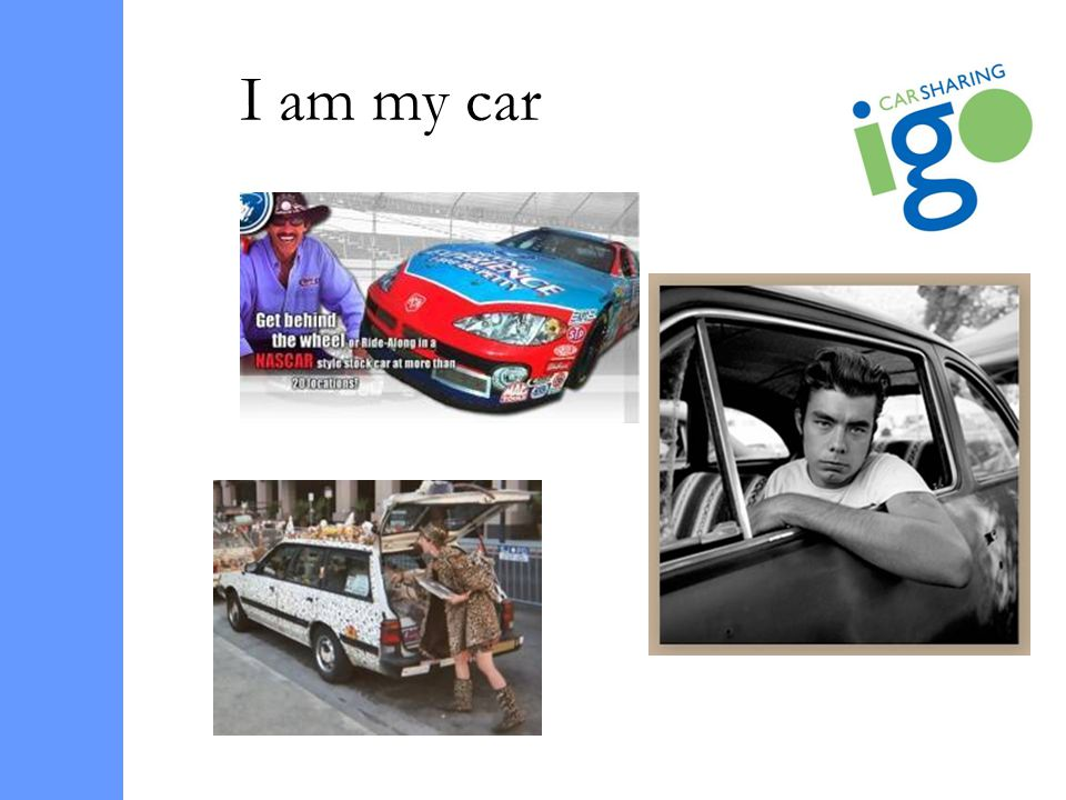 I am my car
