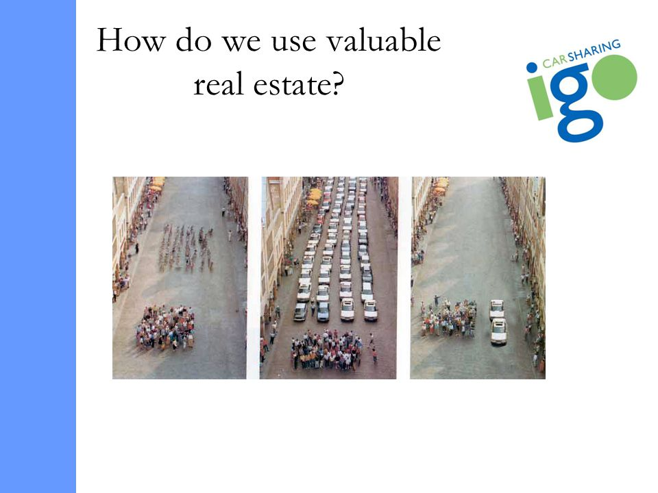How do we use valuable real estate?